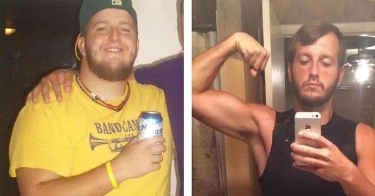 Mies pudotti 50 kiloa painoa vuodessa käymättä salilla
