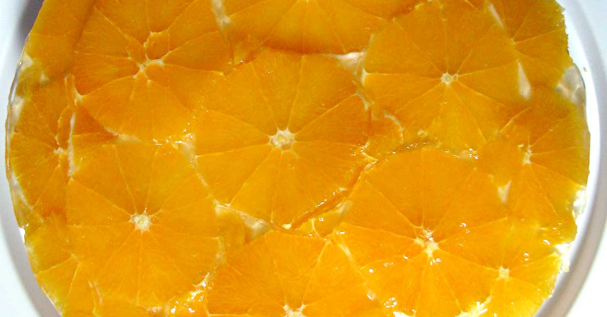 Appelsiinijuustokakku