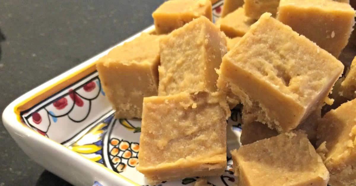 Maapähkinäfudge