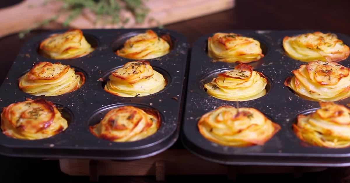 Parmesaani-perunakeot