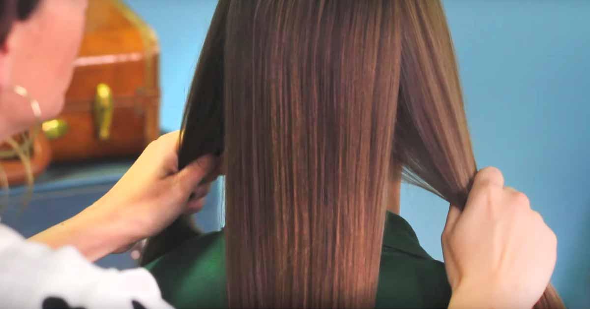 Hauska, helppo sekä tyylikäs hiustyyli – äidiltä tyttärelle. Katso ohje!