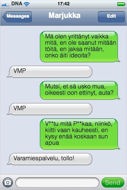 KOHOKOHTA tekstarimokat - VittuMitaPaskaa
