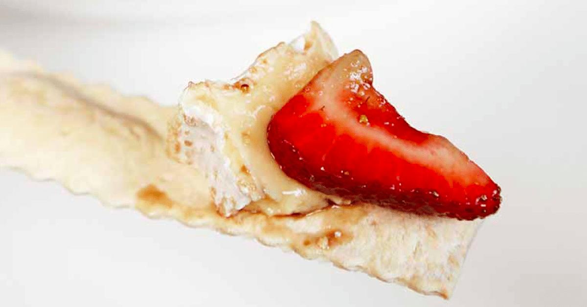 Juustoinen balsamico-mansikka – tätä on pakko testata