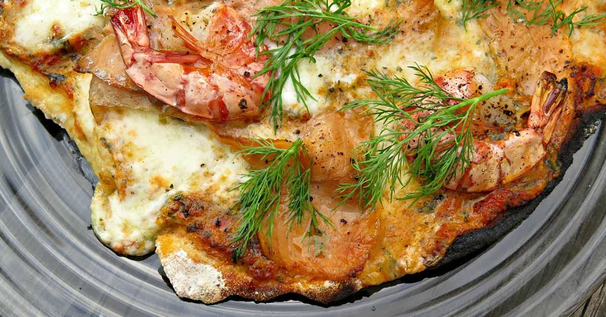 Frutti di mare (4 kpl pientä pizzaa)