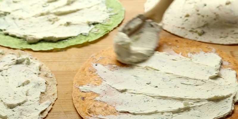 Täytetyt Tortillarullat