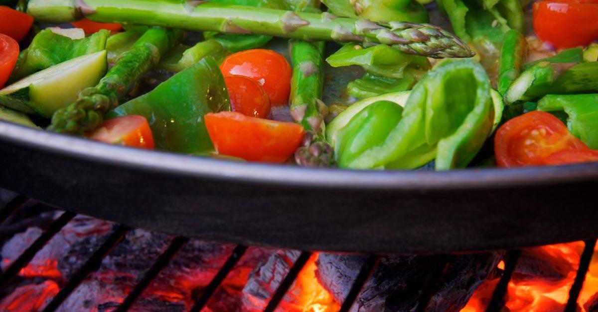 5 ohjetta kasvisten grillaamiseen