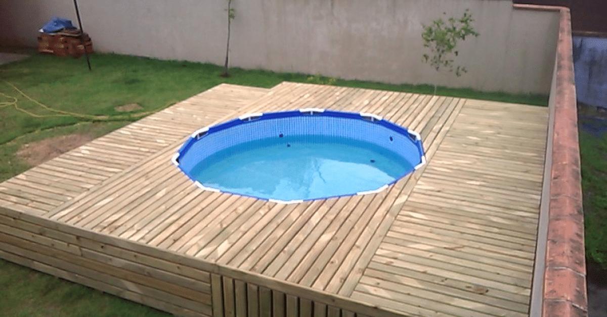 Mies halusi edullisen uima-altaan – tässä hänen ratkaisunsa