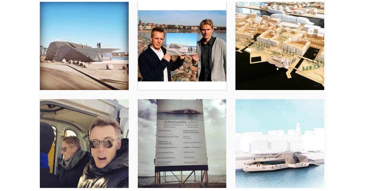 Antero Vartian ja Jasper Pääkkösen miljoonasauna on huikea – katso kuvat
