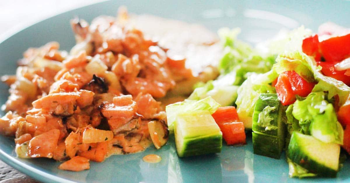 5 minuutin herkullinen kalakastike (vaikka mökkikeittiöön)