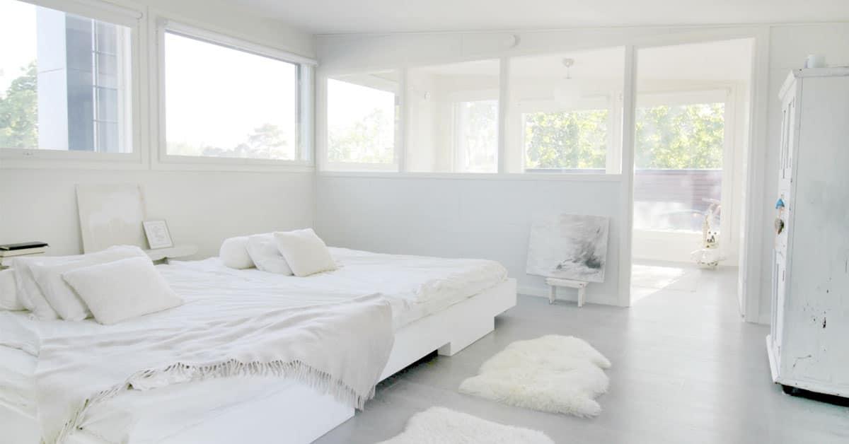 Näin sisustat makuuhuoneen, jossa nukut paremmin (6 tärkeää asiaa):