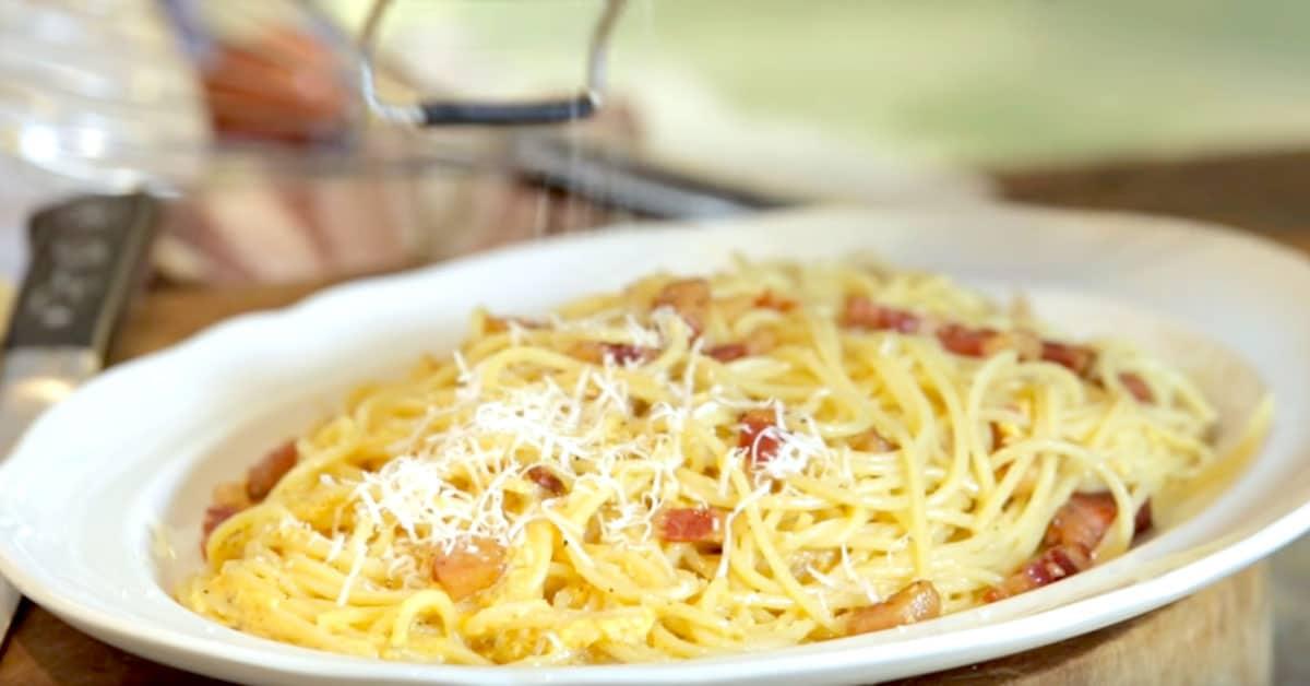 Näin valmistat aitoa Spaghetti Carbonaraa