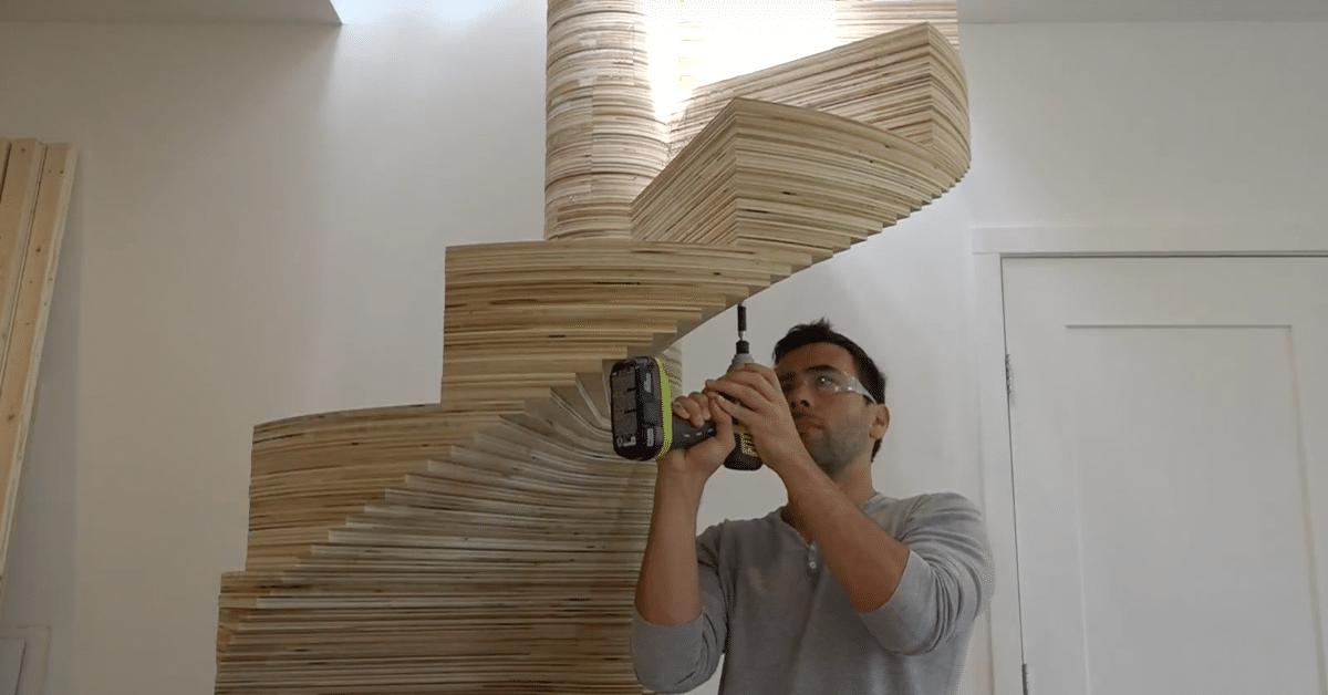 Upeat DIY-portaat vanerista – katso kuvat