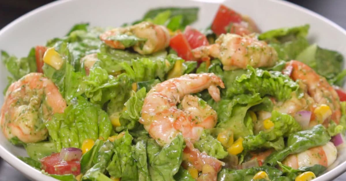 Avokado-katkarapusalaatti – katso herkullinen resepti!