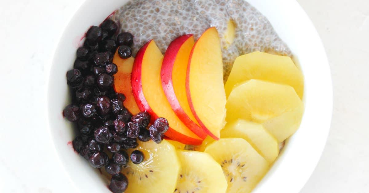 Chia-vanukas on herkullinen ja helppo aamunpiristäjä