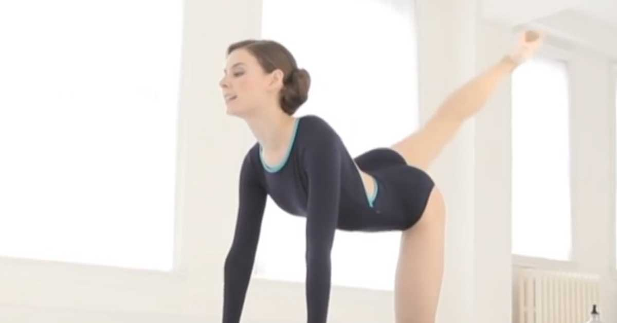 Näin balleriinat treenaavat jalkojaan ja takapuoltaan