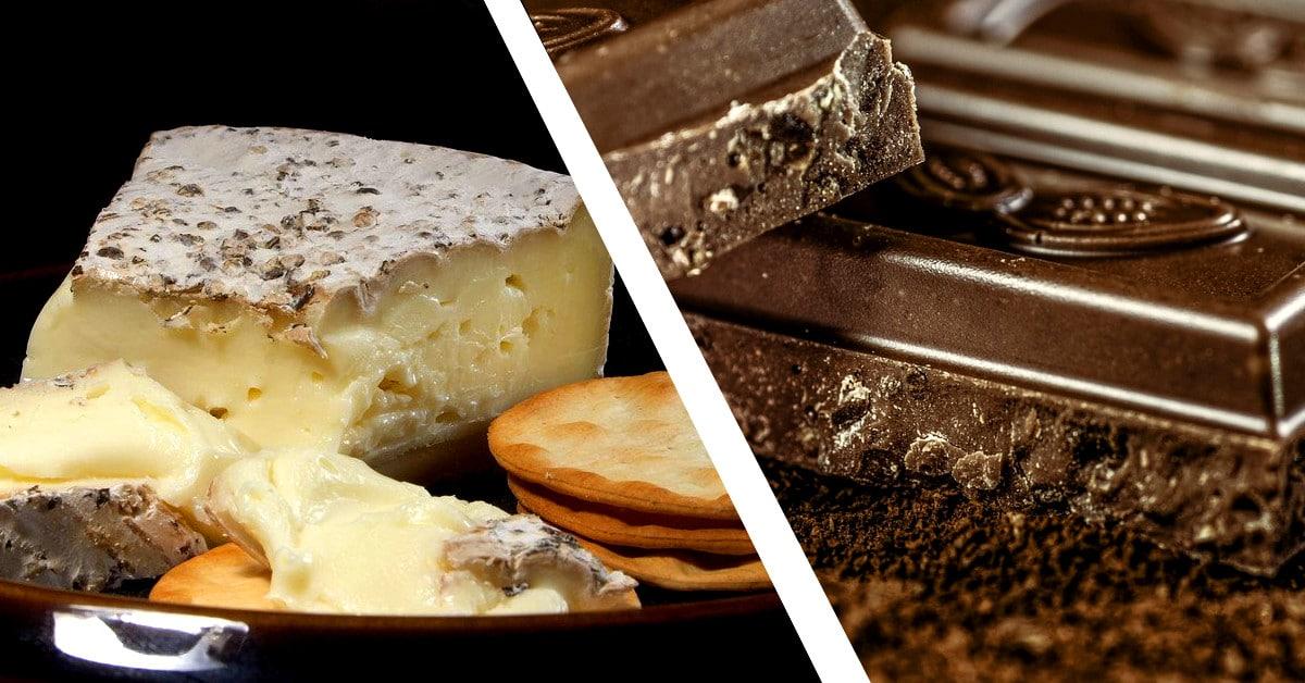 Kumman valitsisit: juustoherkun vai suklaaherkun?