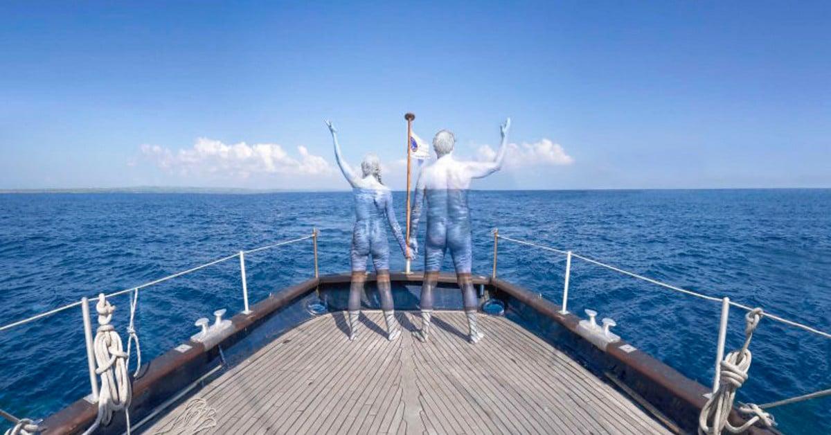 Bodypaint-taiteilija saa mallinsa sulautumaan täydellisesti maailmaan