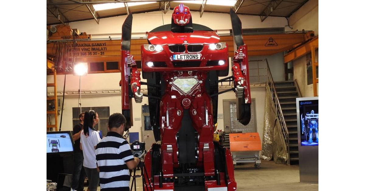 Turkkilaiset insinöörit kehittivät oikean Transformerin