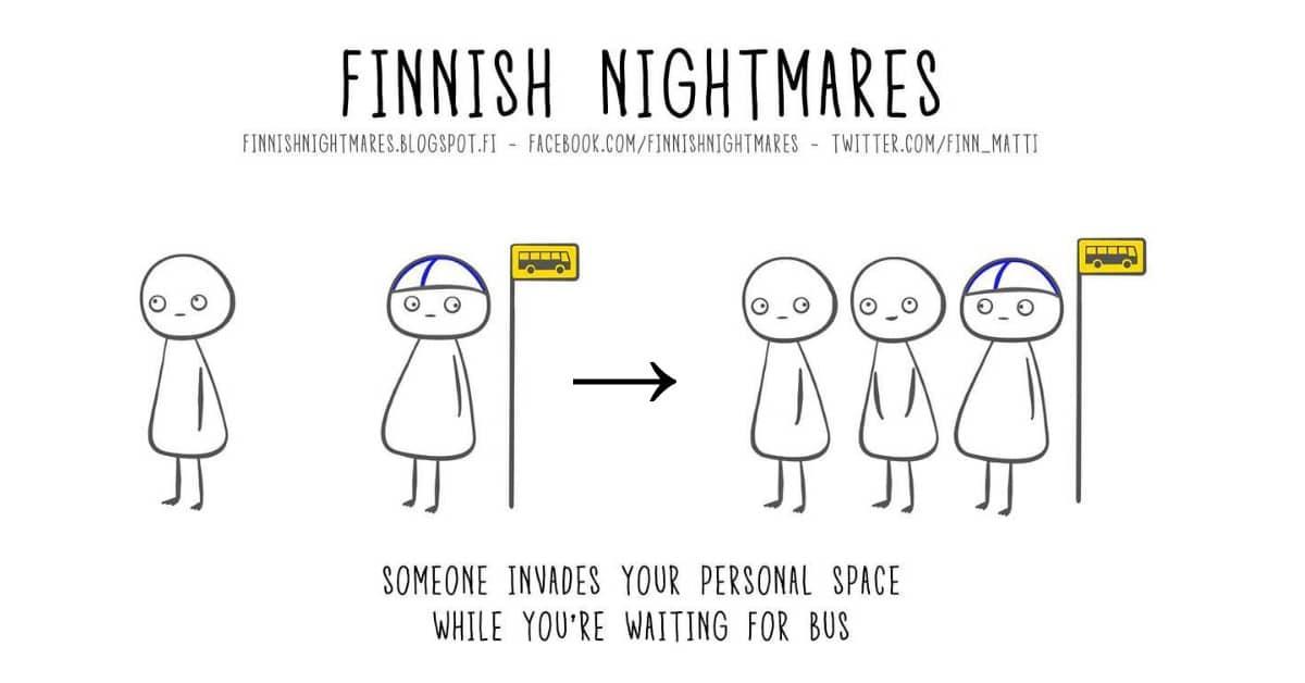 10 kuvaa jotka kiteyttävät suomalaisen pahimmat painajaiset