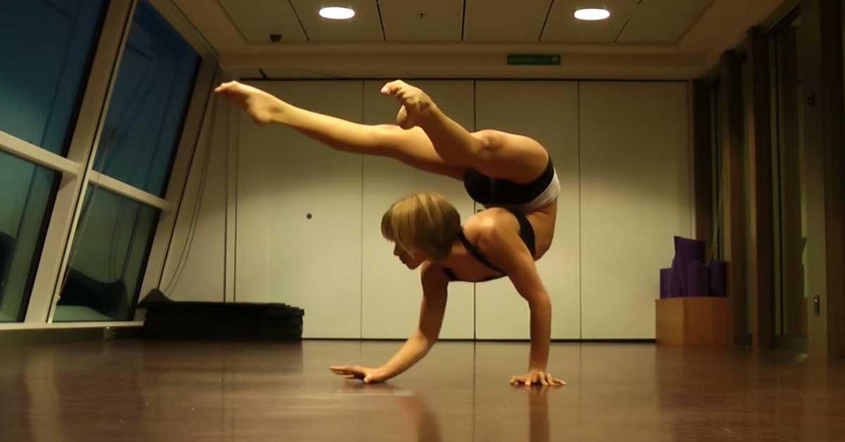 Tanssiesitys voimistelun maailmasta – tällaista et ole ennen nähnyt