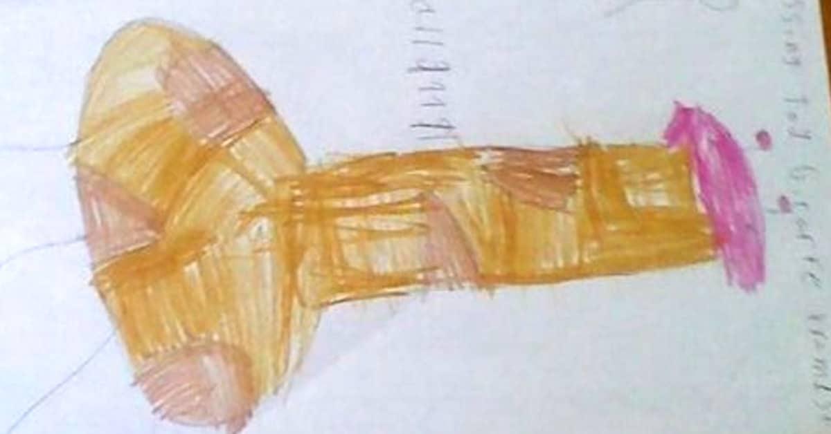 Arvaatko mitä nämä lasten piirrokset esittävät?