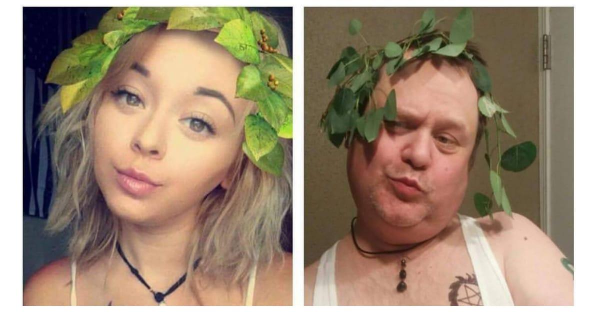 Isä alkoi matkia tyttärensä somepäivityksiä – ohitti tyttärensä seuraajamäärässä