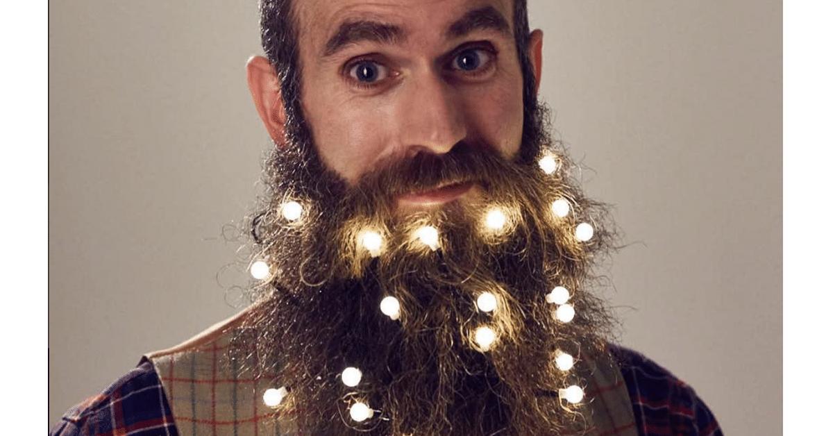 6 tapaa virittää partasi jouluun