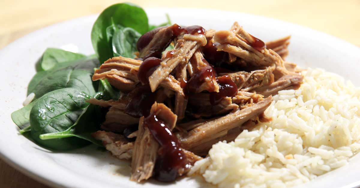 BBQ Pulled Pork porsaan ulkofileestä – Featuring Texas Pete