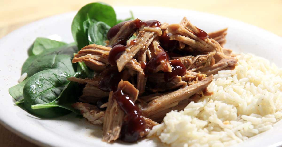 BBQ Pulled Pork porsaan ulkofileestä – Featuring Texas Pete