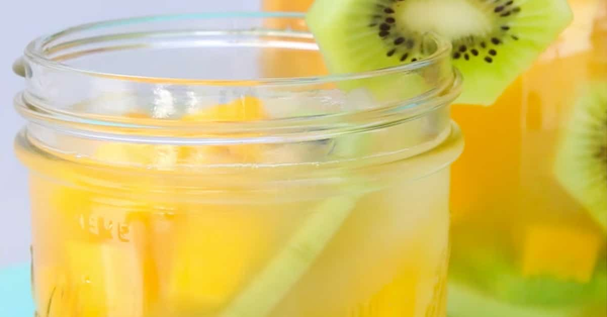 Kiwi-ananas-mangosangria