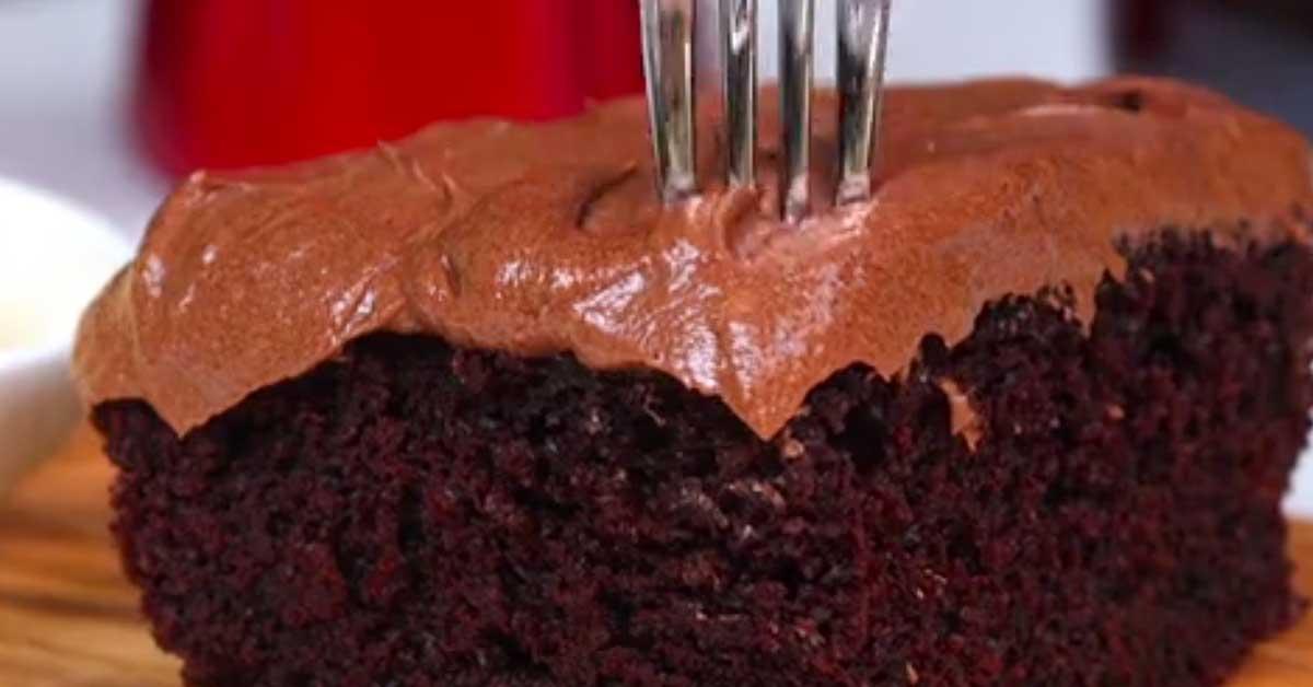 Coca Cola suklaakakku – yksi herkullisimmista