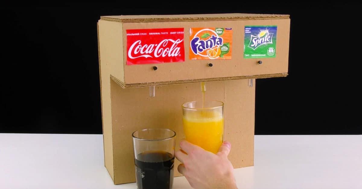 Näin rakennat kolmen juoman limuautomaatin