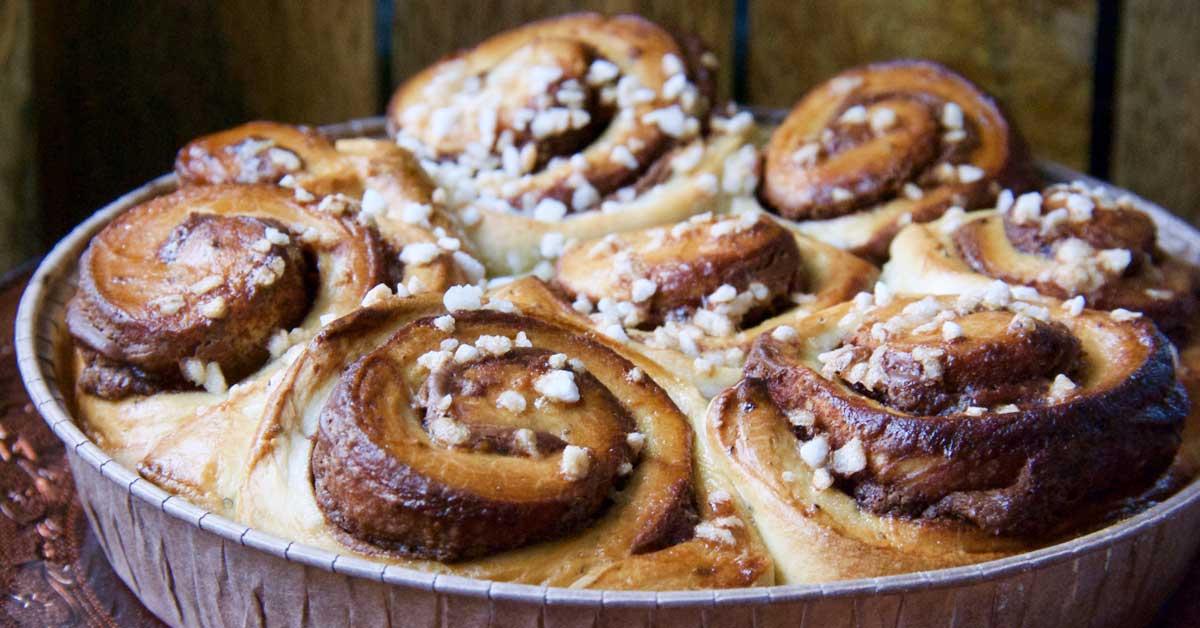 Nutella-boston – kaunis, helppo ja herkullinen