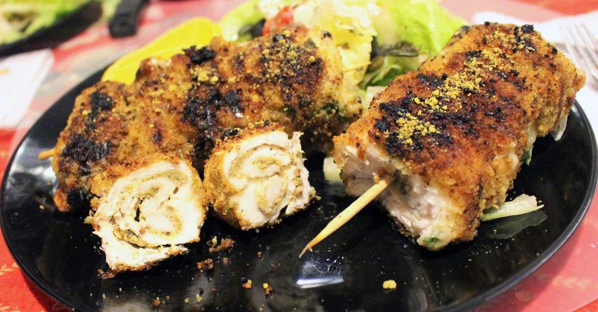 Pistaasi-kanarullat – parasta grillattuna