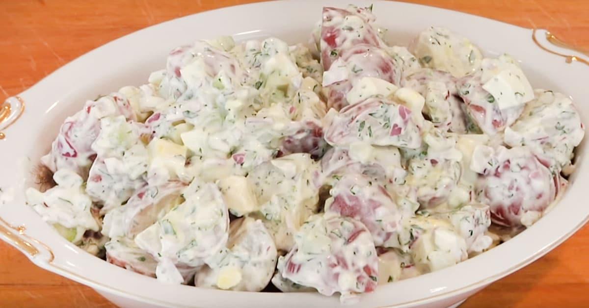 Kermainen perunasalaatti