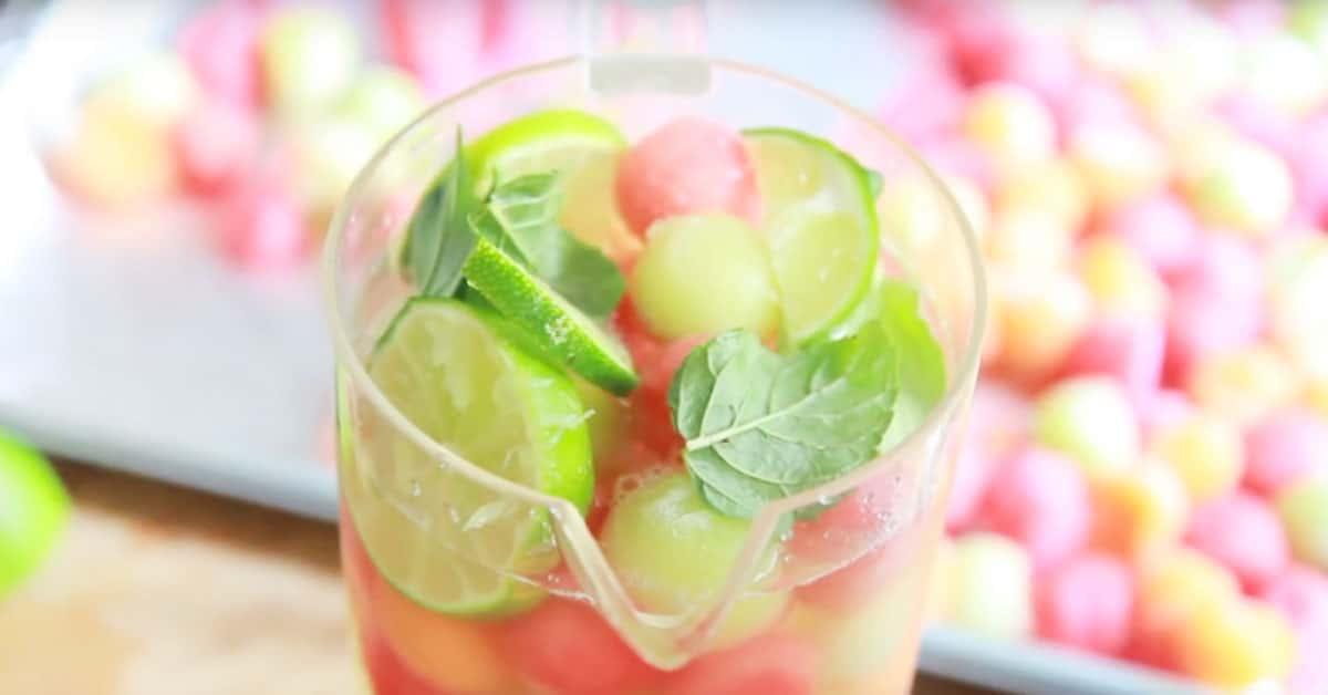 Melonipallot – kesäinen vaihtoehto tylsille jääpaloille