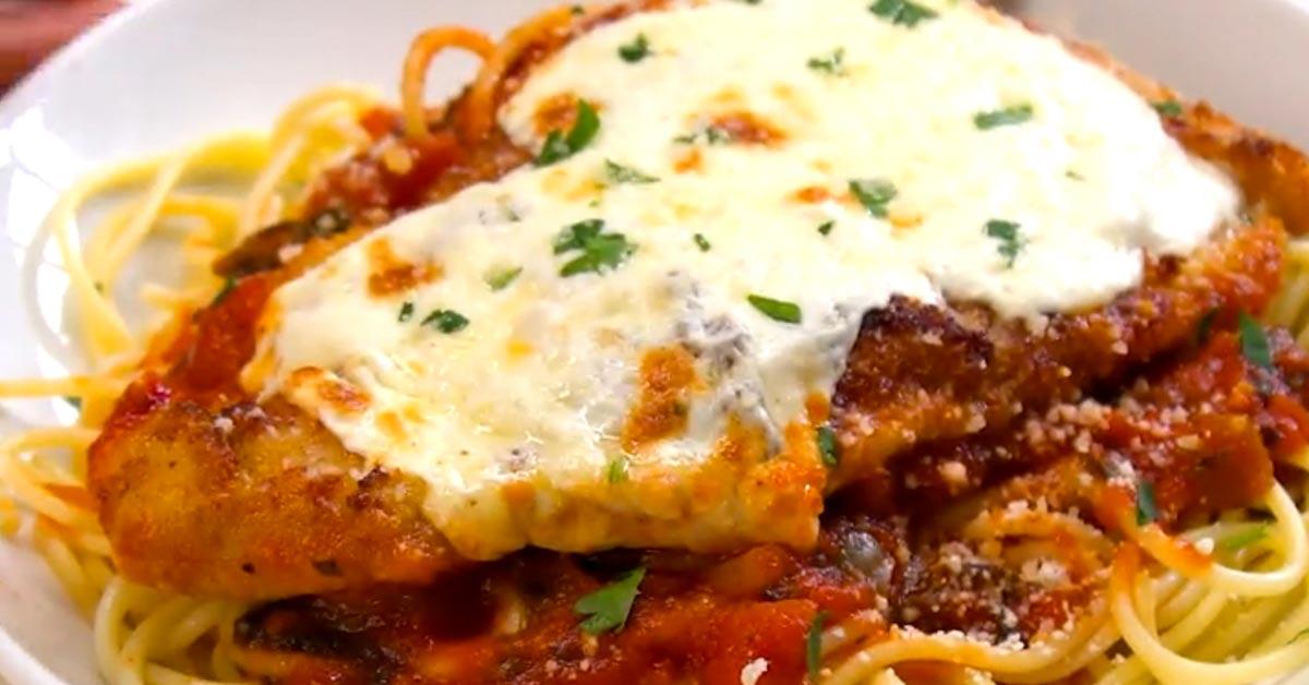 Parmesan-kanaa – helppoa ja herkullista