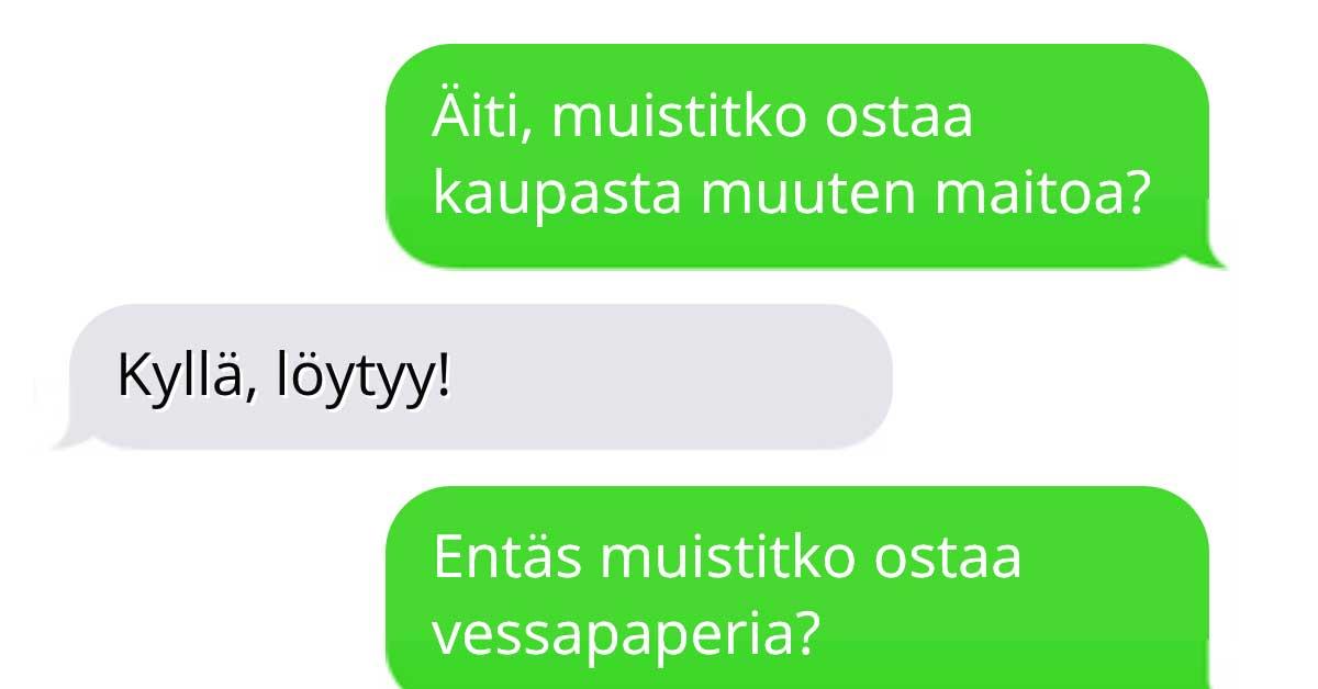 Tekstarimokat: Äiti tekee U-käännöksen