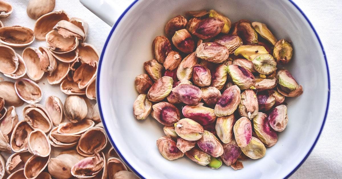 Viisi faktaa pistaasipähkinöistä