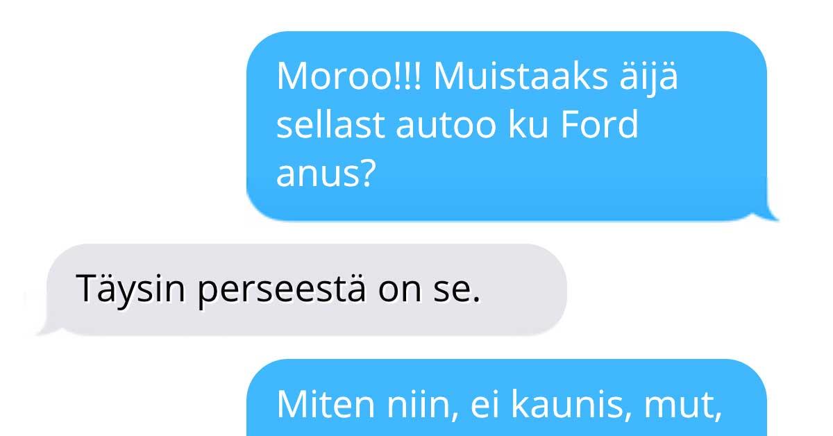 Tekstarimokat: Anuksen mallinen auto