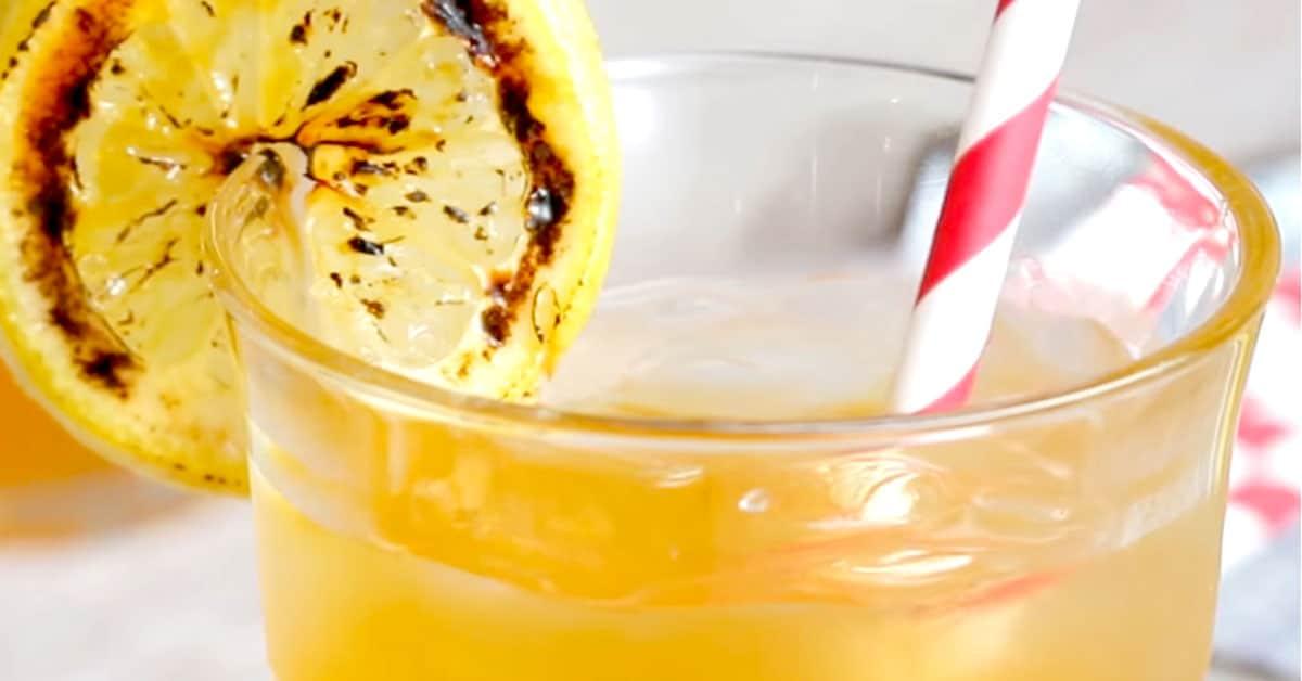 Herkullista kesäjuomaa grillatuista sitruunoista!