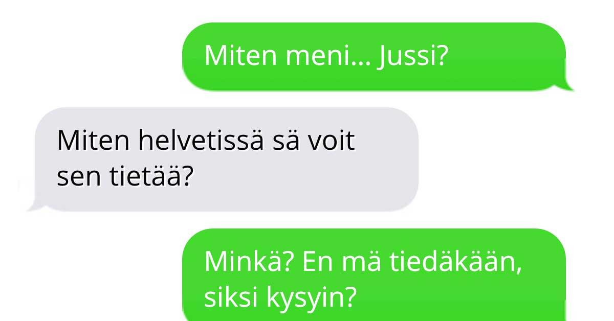Tekstarimokat: Juhannussäätö paljastuu
