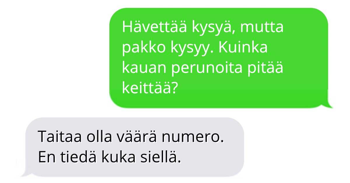 Tekstarimokat: Apua tuntemattomalta