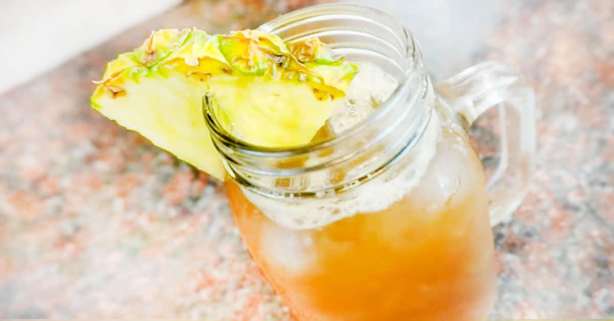 Ananasjäätee – herkullinen tapa jäähdytellä