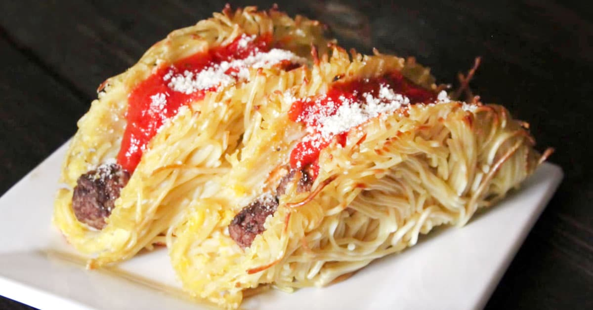 Spagetti-lihapullatacot – näitä tacokuoria kannattaa kokeilla!