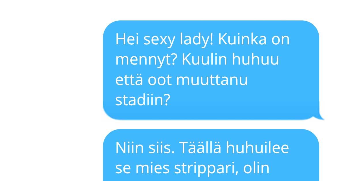 Tekstarimokat: Ei niin seksikäs lady