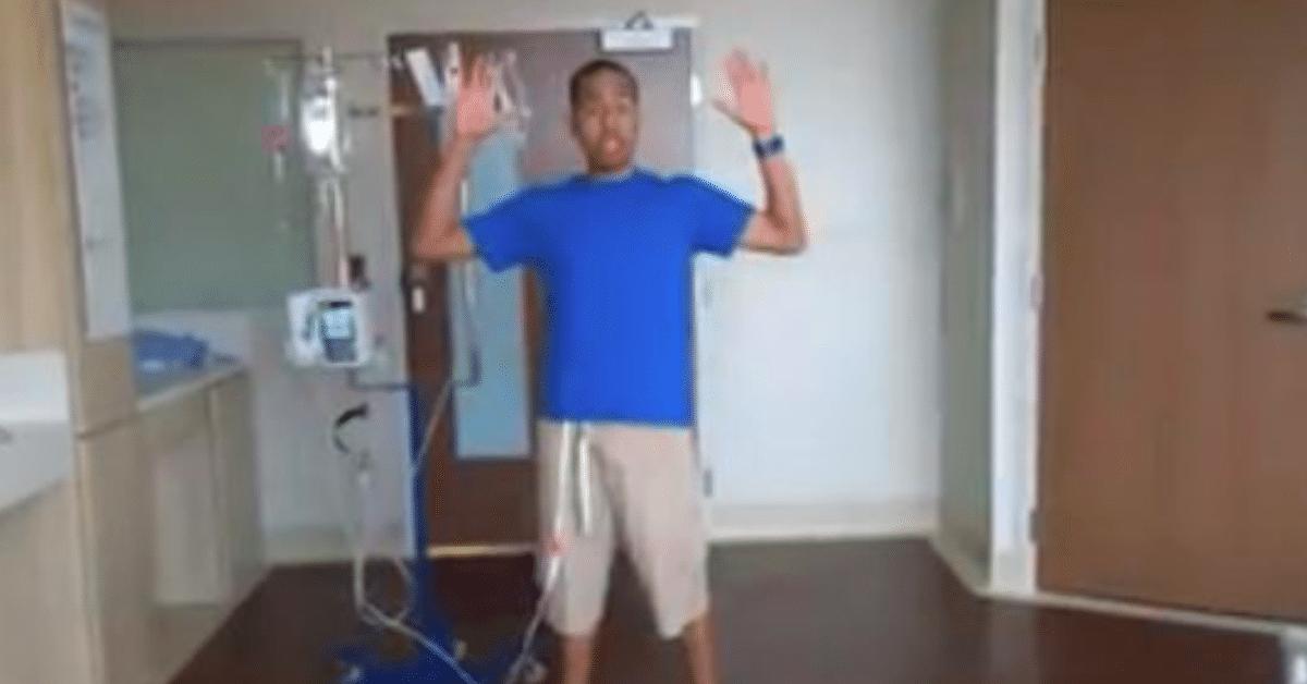 Sairaus ei estä tämän miehen tanssia