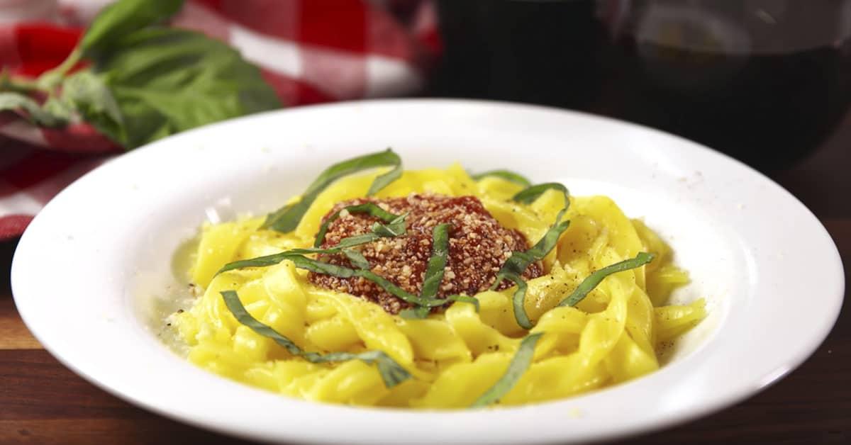 2 raaka-aineen pasta
