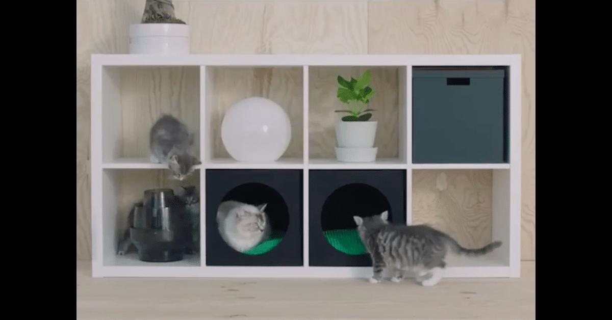 Ikean uusi aluevaltaus: huonekalut lemmikeille!