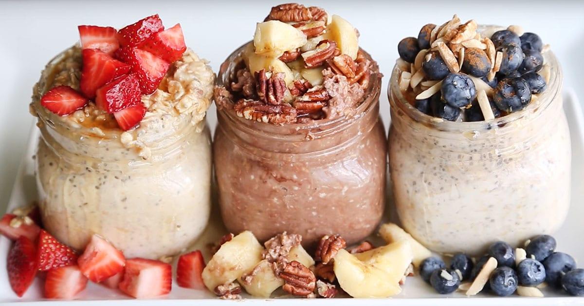 Näin valmistat helpon ja terveellisen aamupalan valmiiksi jo edellisenä iltana